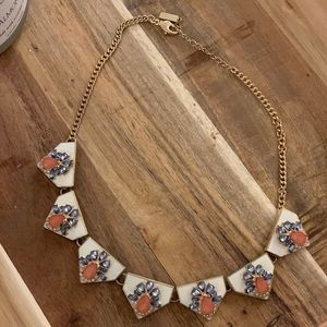 Cute spring statement necklace!